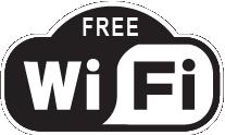 For at alle skiløbere og pressefolk kan komme på netværk harvores værter etableret trådløst net overalt i hovedbygningen. Det er gratis. Nettet er fælles for alle –begræns videostreaming.